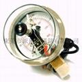 100mm不锈钢电接点压力表 3