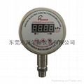 Digital electric contact pressure gauge