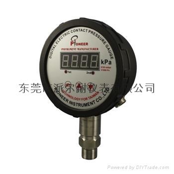 PIONEER高精度數字電接點壓力表壓力開關 9