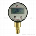 Internal source digital display pressure gauge