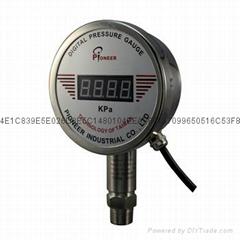 PIONEER100mm高精度远程数显压力表