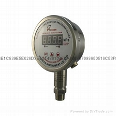 Digital display contact pressure gauge