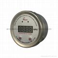 PIONEER牌100mm高精度数显电接点压力表
