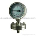不锈钢隔膜压力表 2