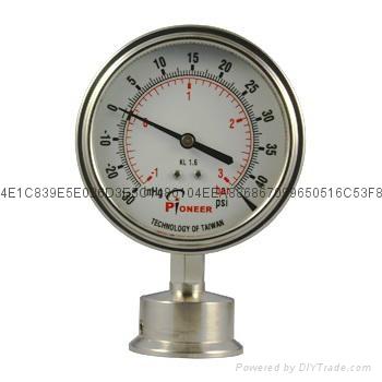 不锈钢隔膜压力表 3