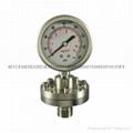 不锈钢隔膜压力表 5