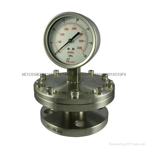 不锈钢隔膜压力表 6