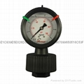 PP FILLED DIAPHRAGM PRESSURE GAUGES 3