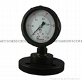 PP FILLED DIAPHRAGM PRESSURE GAUGES 6