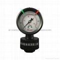 PP FILLED DIAPHRAGM PRESSURE GAUGES 8