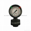 PP FILLED DIAPHRAGM PRESSURE GAUGES 9