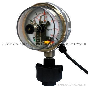 电接点隔膜压力表 7