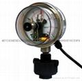 100mm径向电接点隔膜压力表