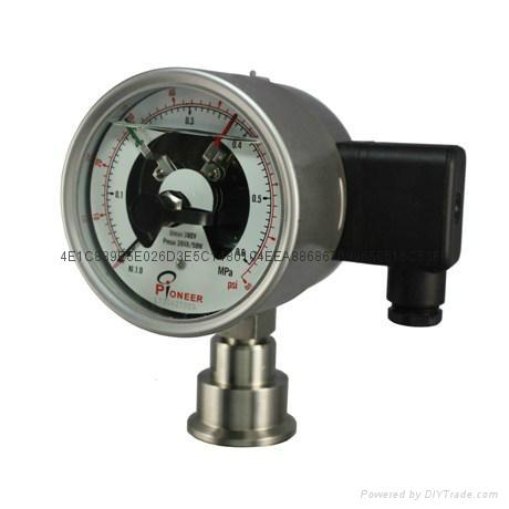电接点隔膜压力表 9
