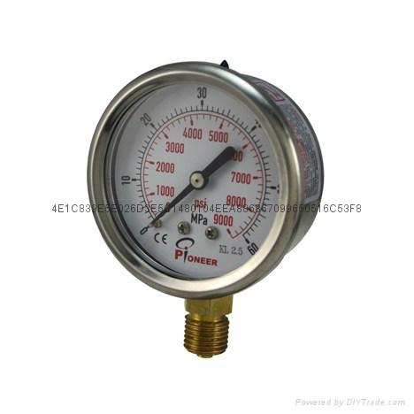 耐震壓力表 11