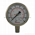 All stainless steel pressure gauge 7