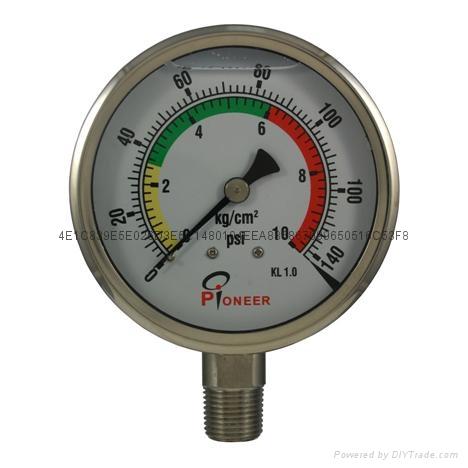 全不锈钢压力表 6