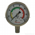 All stainless steel pressure gauge 6