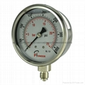 All stainless steel pressure gauge 8