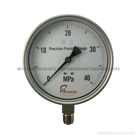 全不锈钢压力表 10