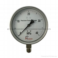 All stainless steel pressure gauge 10