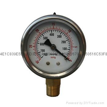 Vacuum Pressure Gauge 1