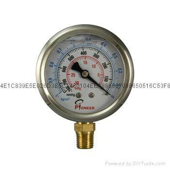优质Pioneer牌63mm耐震真空压力表