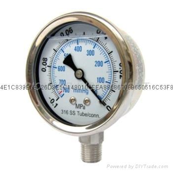 Vacuum Pressure Gauge 7
