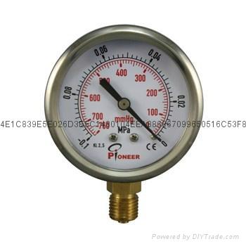 Vacuum Pressure Gauge 9