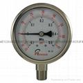 Stainless steel vacuum pressure gauges