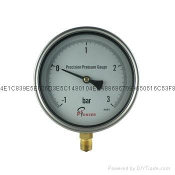 不锈钢精密压力表 4