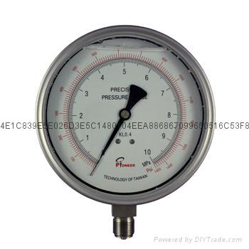 不锈钢精密压力表 7
