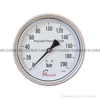 不锈钢精密压力表 8