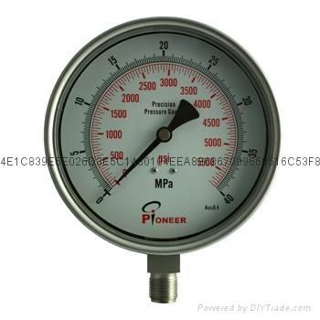 不锈钢精密压力表 10