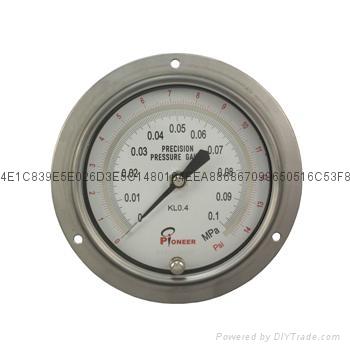 不锈钢精密压力表 15