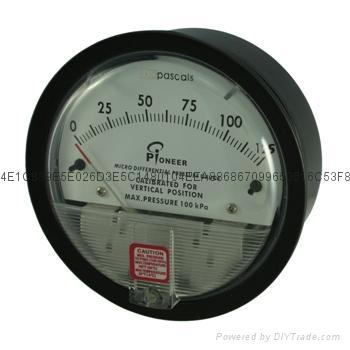 氣體微差壓表 8