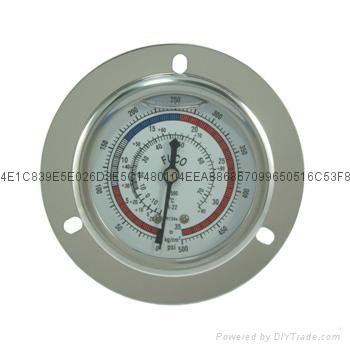 耐震冷媒压力表 3