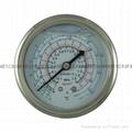 耐震冷媒压力表 5