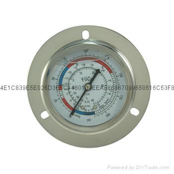 耐震冷媒压力表 6