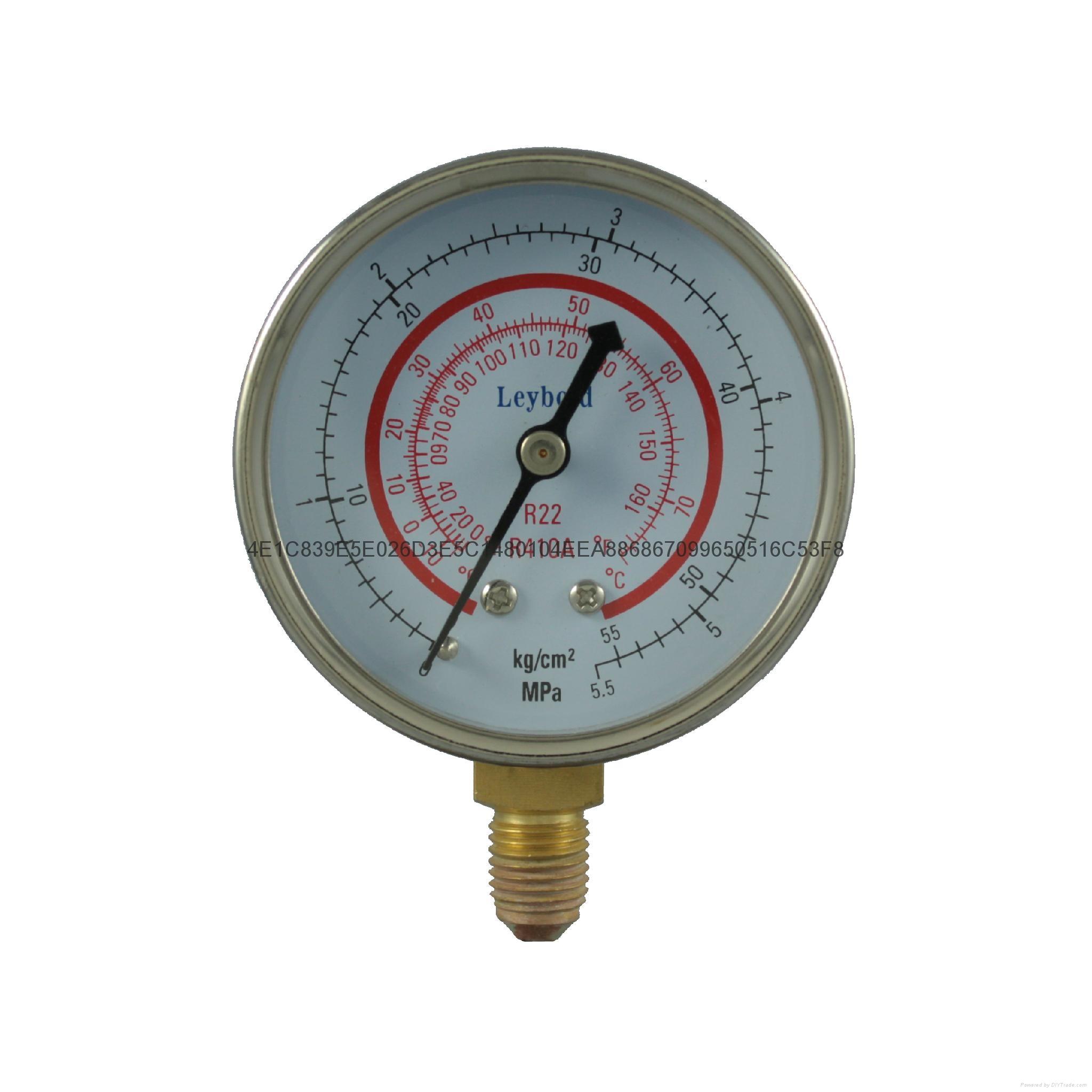 冷媒压力表 9