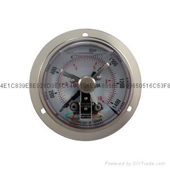 全不锈钢耐震电接点压力表