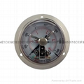 Pressure gauge with electrical