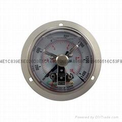 全不鏽鋼耐震電接點壓力表