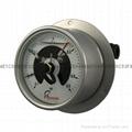 全不锈钢耐震电接点压力表 6