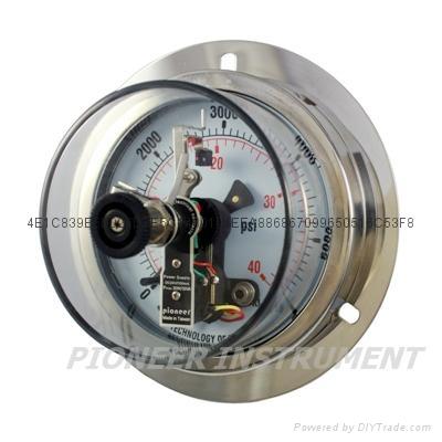進口電接點壓力表 3