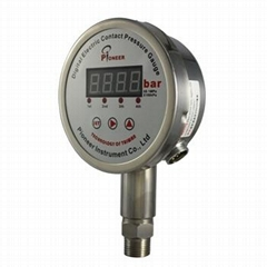 Digital electric contact pressure gauge