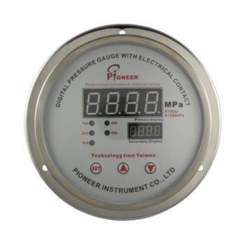 数字式电接点压力表 8