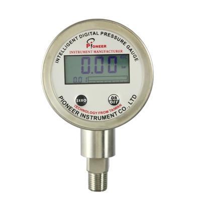 PIONEER牌63mm電池供電數顯壓力表 2