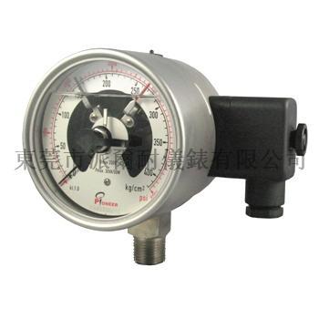 100mm不锈钢电接点压力表 7