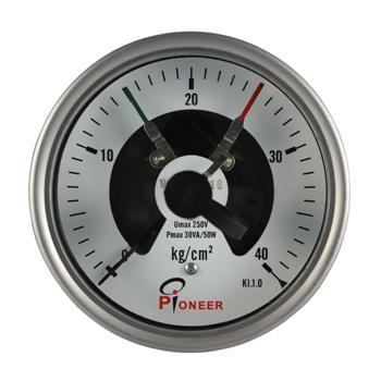 100mm不锈钢电接点压力表 8